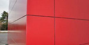 habillage de façade en métal MFD-GOUDARD