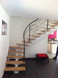 Escalier métal design réali mfd goudard