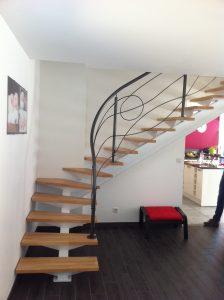 Escaliers métalliques et garde-corps création MFD GOUDARD