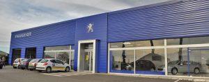 Bardage-Habillage de façade de batiment enstructure métallique MFD-GOUDARD