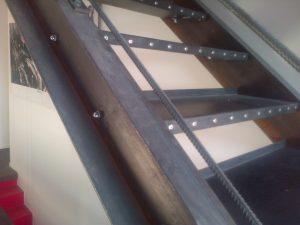 escalier acier Bayinne -anglet- biarrtiz